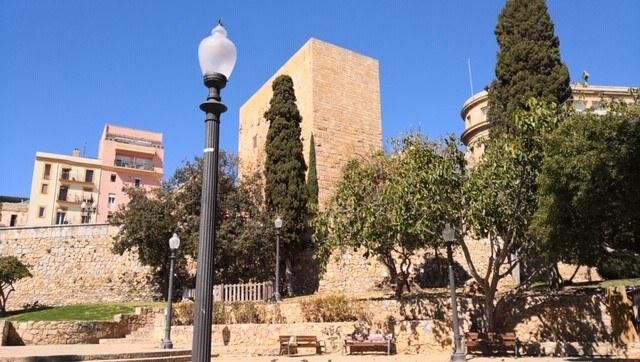 Inicien les tasques de documentació fotogramètrica a la torre del Pretori