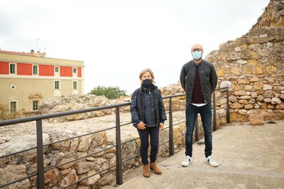 L'Ajuntament de Tarragona realitza un conjunt d'intervencions al tram de la Muralla de l'Antic Escorxador
