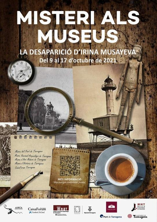 Els museus de la ciutat proposen el nou enigma 'La desaparició d'Irina Musayeva'
