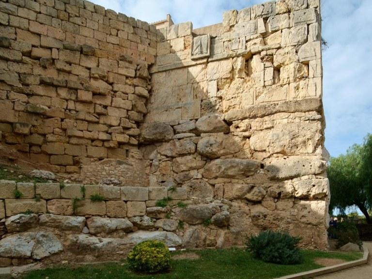 Patrimoni posa en marxa una actuació exhaustiva a la Torre Minerva