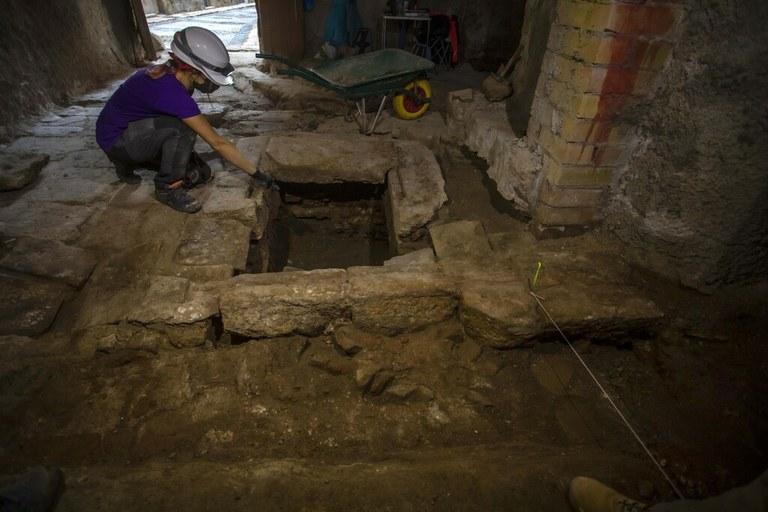 S'inicien els treballs d'excavació de la zona del Fòrum Provincial al carrer Civaderia