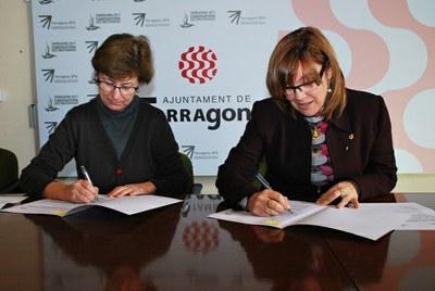 La Conselleria de Patrimoni i l'ICAC signen un conveni per a la documentació fotogramètrica de les restes arquitectòniques d'època romana