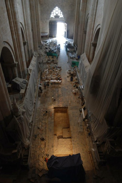 Resultats dels treballs arqueològics de l'interior de la Catedral de Tarragona