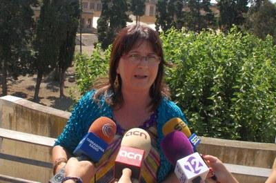 Carme Crespo exigeix a la Generalitat que compleixi el seu compromís de reobrir la Necròpolis