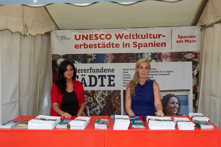 El grup de ciutats espanyoles Patrimoni de la Humanitat participa a la Fira Museumsuferfest de Frankfurt