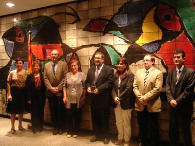 """El Museu Bíblic Tarraconense rep el premi """"Musa 2011"""""""