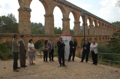 El parc ecohistòric del Pont del  Diable guanya el primer premi Hispania Nostra-Banco de Santander