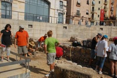 Intervenció arqueològica al circ romà de Tarragona