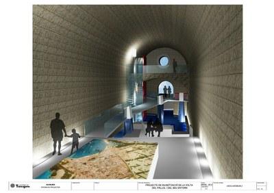 L'Ajuntament presenta la museïtzació de la Volta del Pallol i el seu entorn
