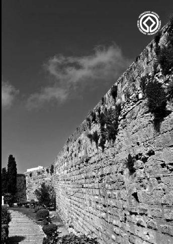 Patrimoni inicia una petita intervenció de la muralla a l'alçada de la Via de l'Imperi