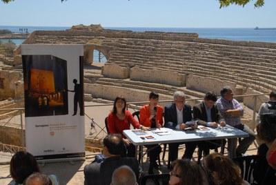 """Presentació a l'Ajuntament del projecte """"Tarragona Història Viva"""""""