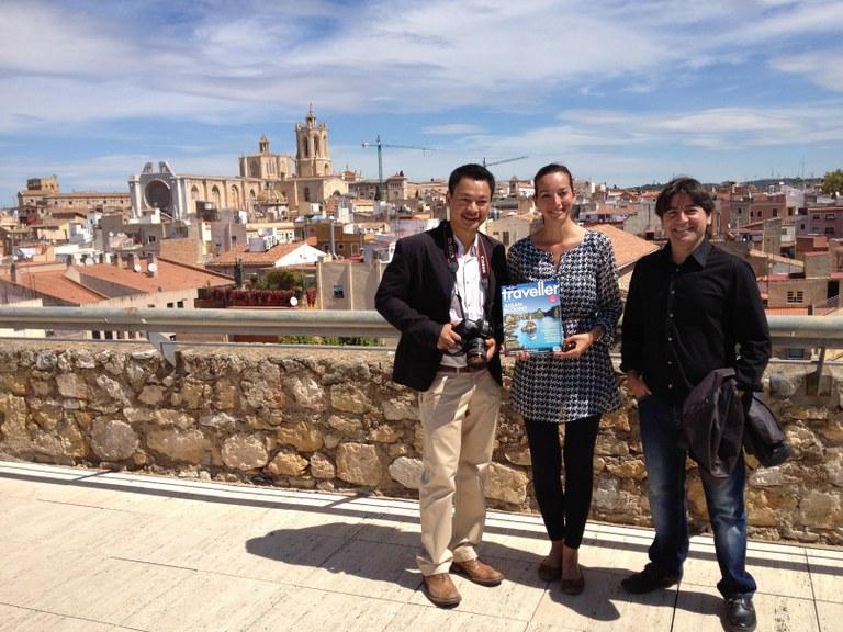 180 periodistes i bloggers visiten Tarragona per participar a les activitats de Tarraco Viva
