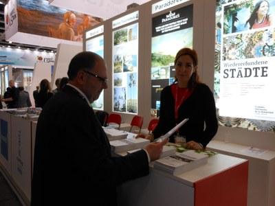 El Grup de Ciutats Patrimoni de la Humanitat, al qual pertany Tarragona, presenta les novetats de la seva oferta turística a la ITB de Berlín