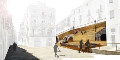 La conselleria de Patrimoni presenta als Fons Feder un projecte d'intervenció del tram de la plaça dels Sedassos del circ romà