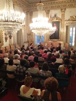 Actuació del Quartet Iberia dins el cicle de concerts del Grup Ciutats Patrimoni