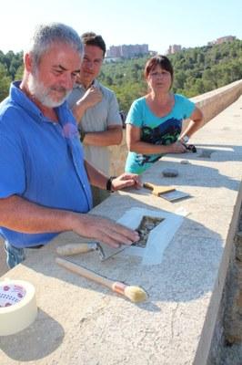 Basf dóna un nou morter universal de reparació i anivellació superficial pel manteniment del Pont del Diable
