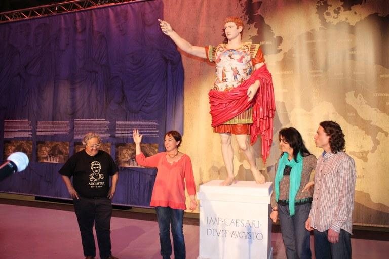 Es presenta l'August de Prima Porta policromat amb motiu de Tarraco Viva