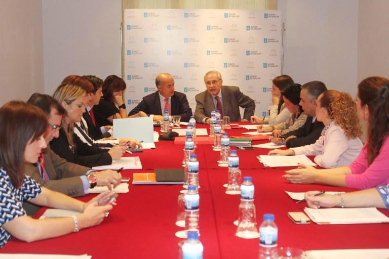 La comissió de patrimoni del Grupo Ciudades fa balanç de 2014 i apunta iniciatives per a l'any vinent