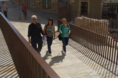 La intervenció al carrer Enrajolat s'endú el Premi Catalunya Construcció 2014