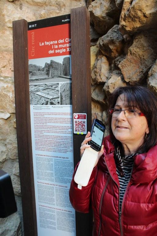 Patrimoni incorpora un servei d'audioguia al mòbil