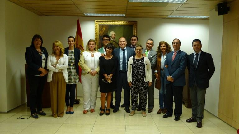 Reunió de la comissió de turisme del Grup de Ciutats Patrimoni a la seu de Turespaña