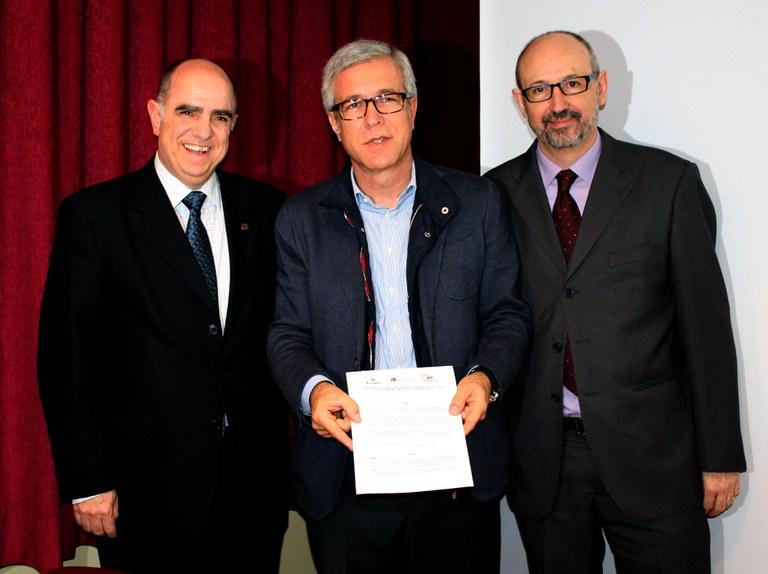 Signat el conveni marc de col·laboració entre l'Ajuntament de Tarragona, la URV i l'ICAC