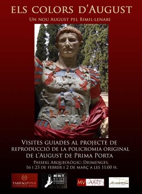 Tarraco Viva i el Museu d'Història proposen una visita comentada de l'estàtua d'August