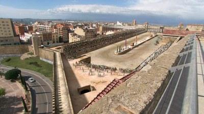 Avui i demà es tornaran a emetre els capítols dedicats a Tàrraco de la sèrie 'Ingeniería romana'