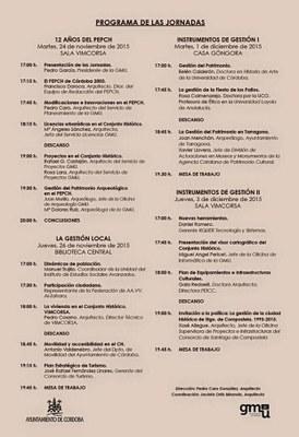 El model de gestió patrimonial de Tarragona serà present a unes jornades a Còrdova