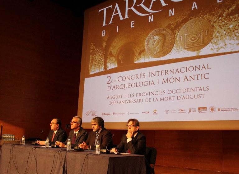 Inauguració del II Congrés d'Arqueologia i Món Antic
