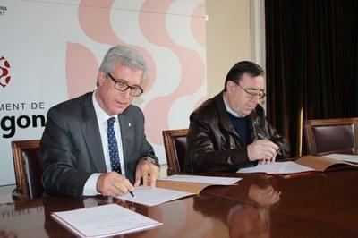 L'Ajuntament i la Fundació Mútua Catalana fan un pas més per a la restauració definitiva del Circ Romà