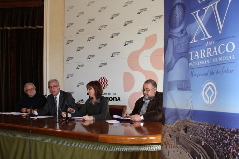 Tarragona celebra quinze anys de Patrimoni Mundial amb un balanç positiu per la feina feta