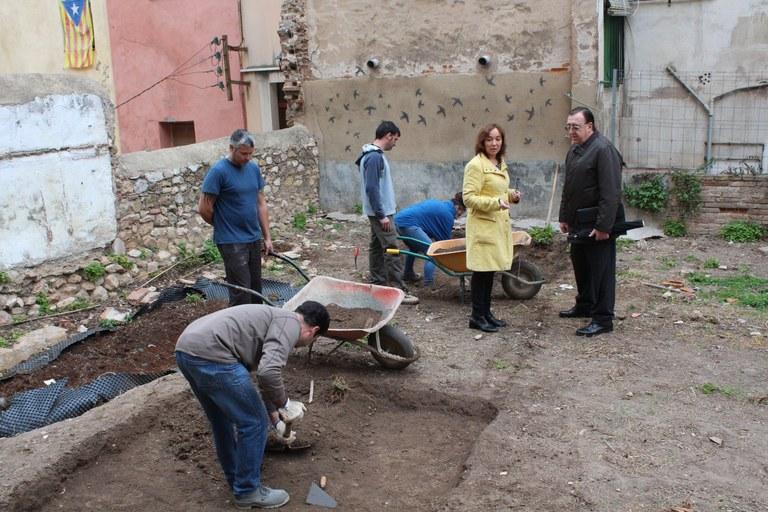 Comencen les prospeccions arqueològiques de la graderia nord del circ romà de Tàrraco