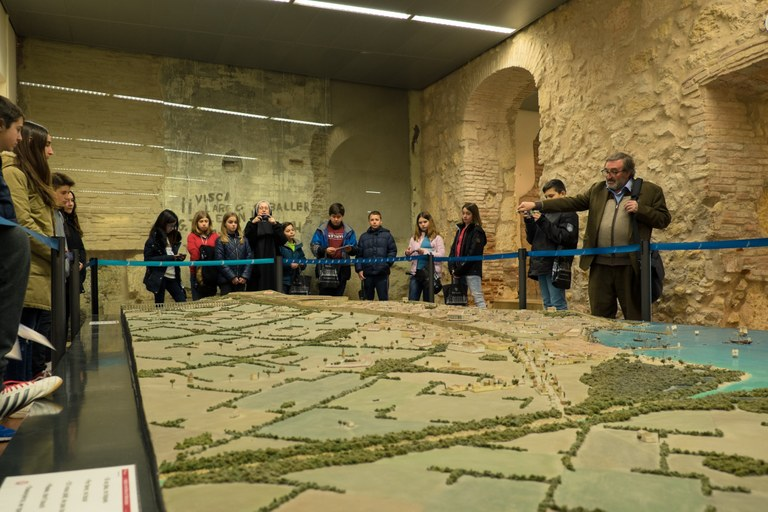 La Salle Torreforta representa Tarragona en el programa pedagògic de les ciutats Patrimoni Mundial