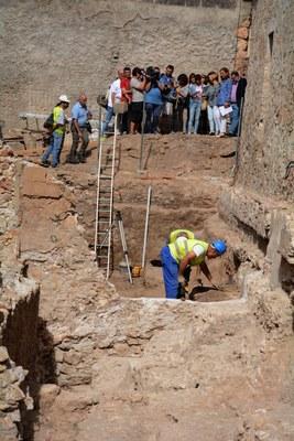 Els treballs arqueològics del carrer dels Ferrers evidencien la continuació de la graderia del circ romà i una important ocupació medieval