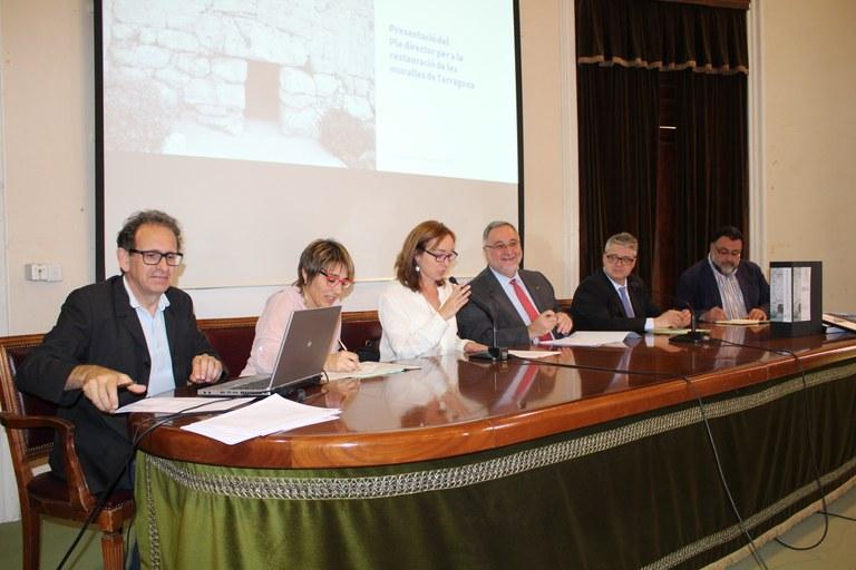 Es presenta el Pla Director de les Muralles de Tarragona