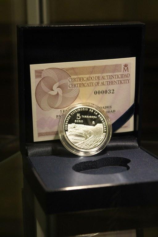 Ja es pot comprar la moneda de Tàrraco a l'Oficina de Turisme