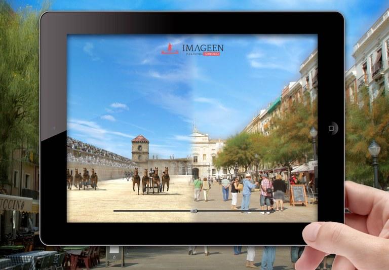 L'app Imageen Reliving Tàrraco aconsegueix més de 5.000 descàrregues des de finals d'octubre de 2015
