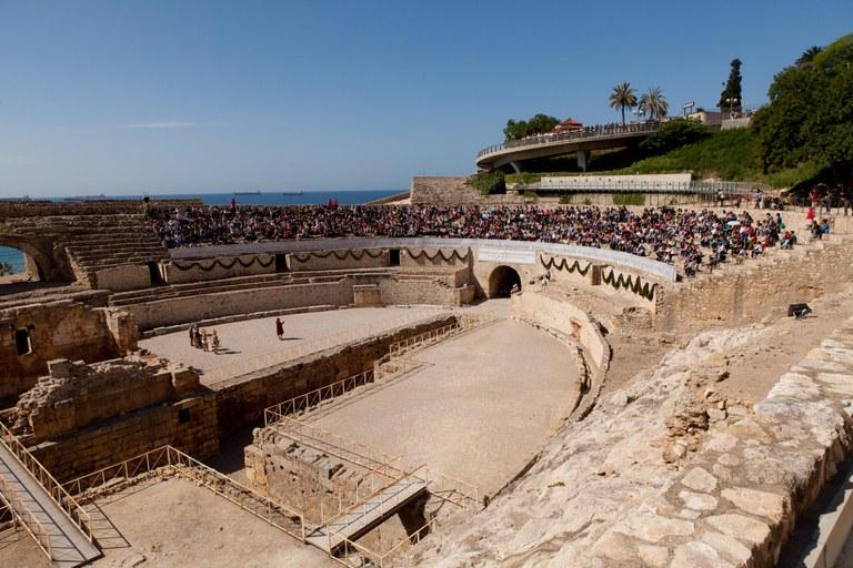 L'amfiteatre romà de Tàrraco opta a 'monument favorit' dels catalans