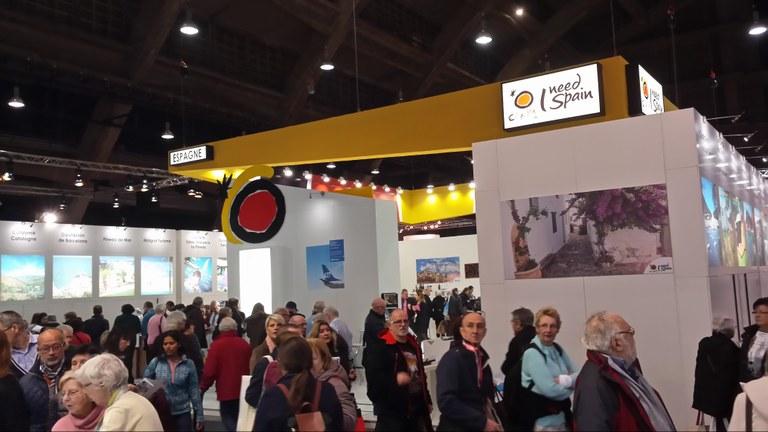 Tarragona, present al Salon des Vacances de Brussel•les amb el grup de ciutats espanyoles Patrimoni Mundial