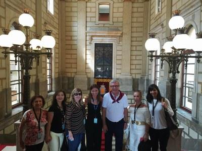Un grup de Miami fa parada a Tarragona dins d'un 'famtrip' per quatre Ciutats Patrimoni Mundial