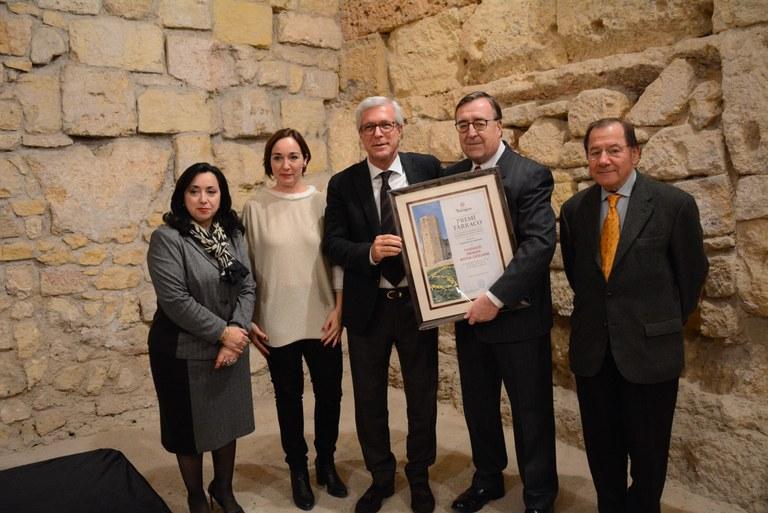 L'Ajuntament atorga el Premi Tàrraco a la Fundació Privada Mútua Catalana