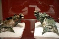 Recuperades dues peces de bronze d'època romana