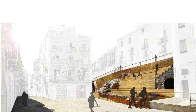 S'inicia el projecte de recuperació urbanística del circ romà - Plaça Sedassos