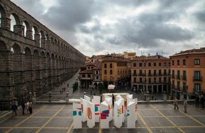 """Tarragona acull la intervenció artística """"Laberints Lírics"""" del grup Ciutats Patrimoni"""