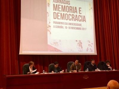 """Tarragona participa en les jornades """"Memoria e democracia"""" que se celebren a A Coruña"""