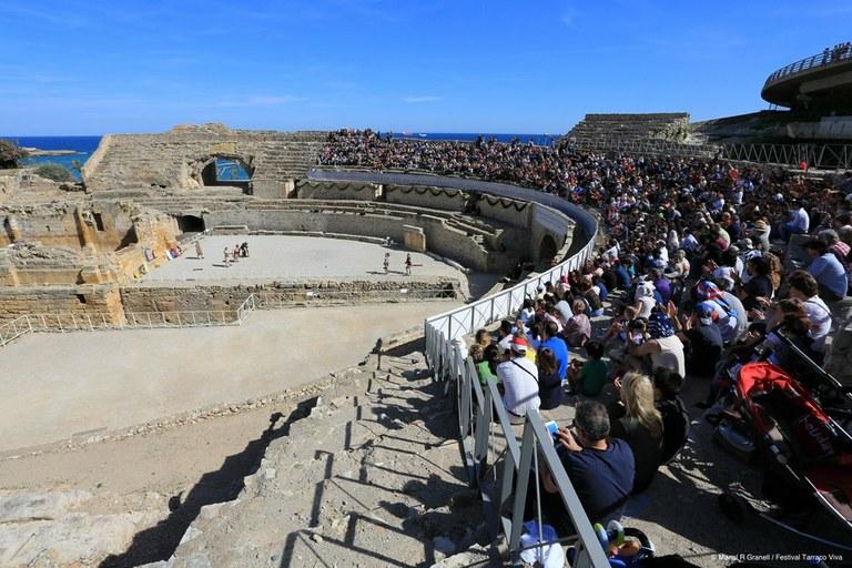 Els Jocs de Nemea inauguren la XX edició del Festival Tarraco Viva