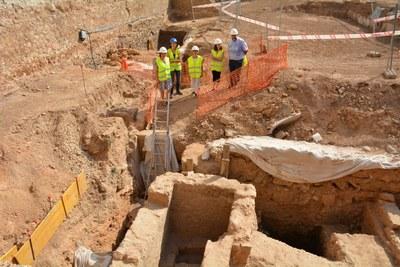 Finalitzen les intervencions arqueològiques a l'antiga caserna de la Guàrdia Civil