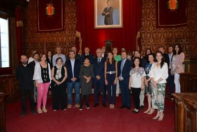 Inauguració del seminari Mecenatge i patrimoni cultural al Palau de Congressos