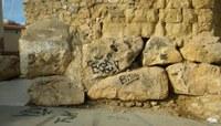 La consellera de Patrimoni lamenta un nou episodi d'incivisme a les Muralles